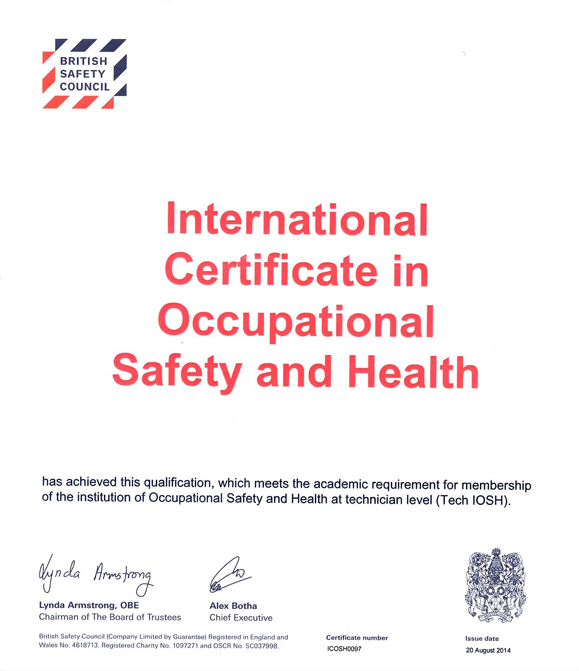 Occupational Safety & Health